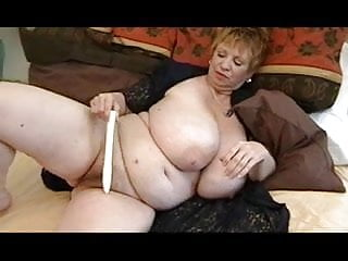 Busty granny movie galleries Busty granny dildo