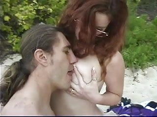 Gay young males fucking - Mature male fucks young girl with glasses on at the beach then on a boat