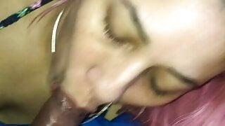 rican mami sucking dick