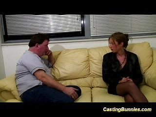 Bunny glamazon domination - Casting skinny bunny taking big cock oral and in pussy