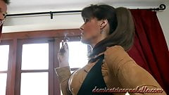 Dominatrix Annabelle sex with valet 7