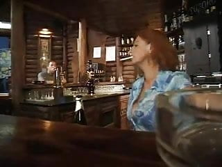 Atlanta bars mature crowd - Granny in bar
