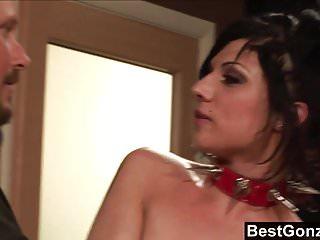 Deviant sexy tattooed women Bestgonzo - deviant sex in front of gagged and bound slave-g