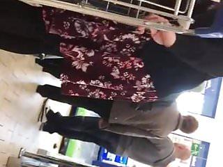 Black woman upskirt Slut german woman in shiny black opaque tights