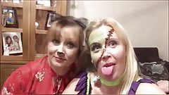 2 HORNY BLONDE MILFS WANT TO SUCK YOU OFF!