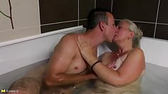 Taboo home sex at bath