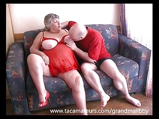 Naked old grandma 80 year old grandma libby fucks young lad