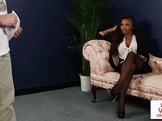 Private sub voyeur Black british voyeur instructing sub to jerk