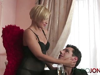 Red wings pussy - Carlojones hot short haired blonde angel earns her wings