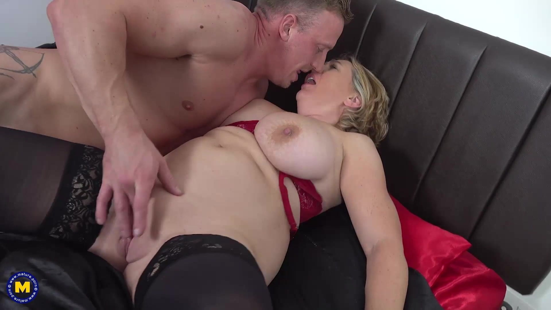 Blonde Mom Fucks Son Pov