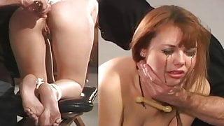 gagged anal&tears
