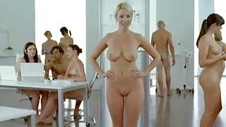 Nude cream commercial with big boos in it