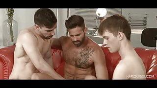 Dani Robles, Josh Milk and Ruben (KK)
