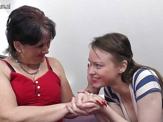 Old mother tits pics Old mother fucks her young lesbian girl