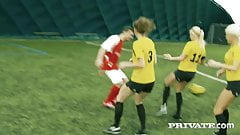 Private.com - Super Soccer Slut Blanche Bradburry Gets Anal!
