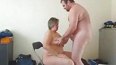 Fat granny suck and fuck