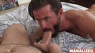 MANALIZED Hairy Brendan Patrick Barebacked By Wesley Woods
