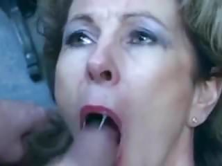 Mature hair cut - Perverses sperma besaufnis - milf cut