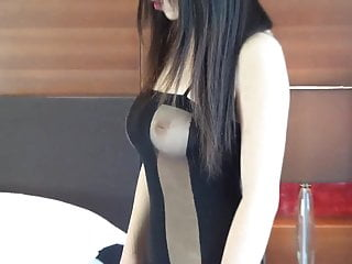 Busty nude high resolution photos - Younger asian amateur model nude photo shoot