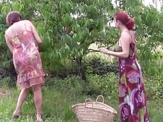 Otis orchards sex 2 lesbians fucked in an orchard