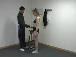 Hot naked coed blowjobs Humiliating naked exercises for teacher spanking shame