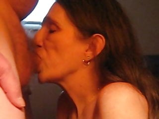 Mouth full of hot sperm Deep throating and a hot mouth and throat full of cum
