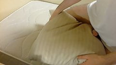 My old feather pillow that I love