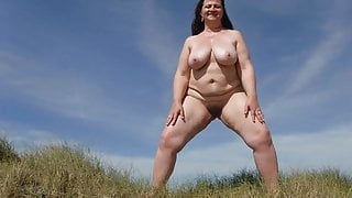 pissing in the dunes