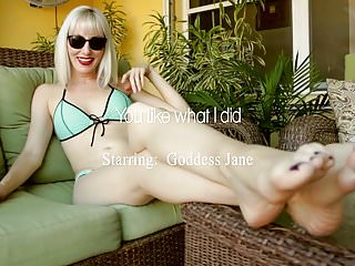 I did a handstand nude You like what i did with goddess jane