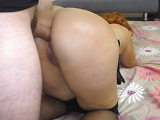 Mom Lays Down On The Sofa And Gives A Blowjob To Her Stepson XhGW