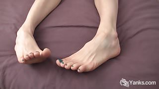 Horny Nina Masturbating And Cumming