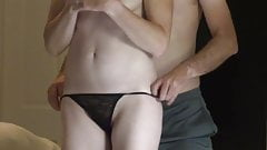 Fit Shy Wife Has Huge Clenching Orgasm, Takes Huge Cumshot o