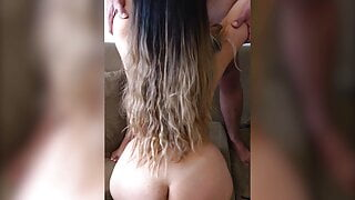 Blonde Latina Shaking Her Perfect Thick Ass And Riding Dick