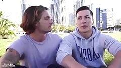 Sexe gay: Clark Parker et Tristan Hunter