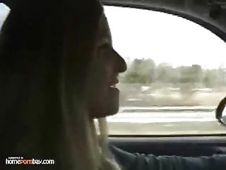 Teen hitchiker adel - I got a blowjob while hitchiking