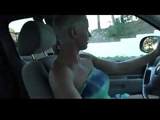 Funny short costarican sex jokes - Blonde short hair milf dildoing in her car bvr