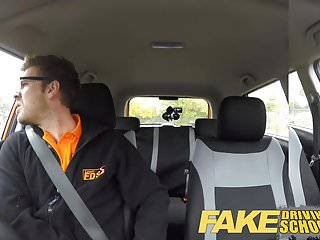 Gays students - Fake driving school teen student creampie after lesson