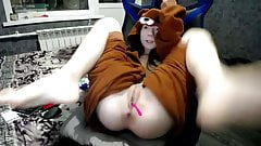young russian cam-slut