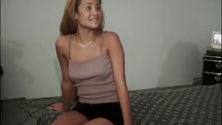 Asian beauty Lilly Lovely makes pussy fucking cock cum hard
