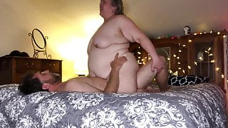Real Amateur BBW Couple – Intimate Moments, Cowgirl Sex - TnD