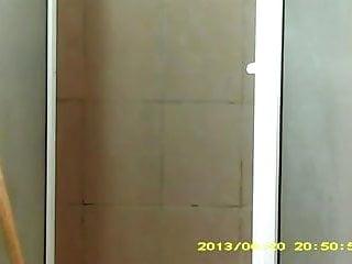 Voyeur shower girls Same girl caught again...hidden shower