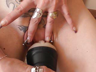 Sex with fleshlight wife Sadobitch - cuckold fleshlight fuck