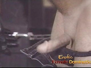 Smoking fetish boy slave Pizza boy ends up as a slave in this dominatrixs dungeon