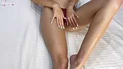 Sensual Footjob Closeup - Foot Fetish