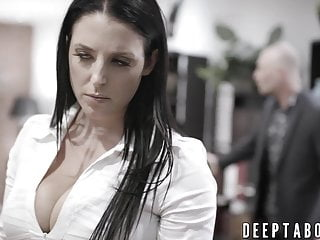 Sexy businesswoman Busty businesswoman fucked by crooked politician