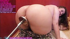 fat booty shygirlfromeurope pump her cream pussy doggystyle