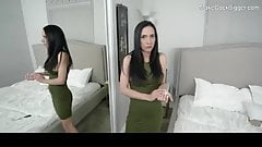 POV quickie with big tits MILF. Cum on face. Hot whore
