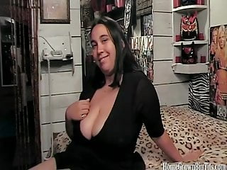 Squirt on a penis - Busty bbw masturbates and deepthroats a penis