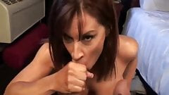 Thirsty For Cum inside her mouth