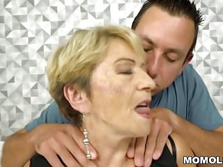 Grand mother fucking - Chubby grand-mother and her younger lover